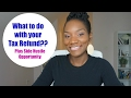 What to do with your Tax Refund | Don't Spend it All | Plus Side Hustle Opportunity | FrugalChicLife