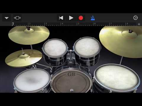 How To Pitch Down Hi Hats On Garageband iOS