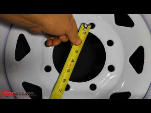 How To Measure The Bolt Pattern Of An 8-Lug Wheel