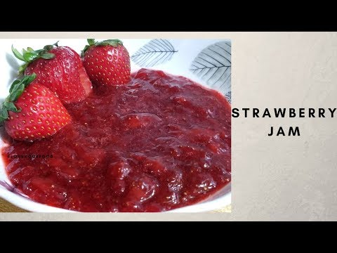 How To Make Strawberry Jam Without Pectin At Home In Hindi|| Easy Jam Recipe