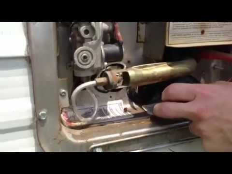 Replacing the water heater element in an RV. By How-to Bob