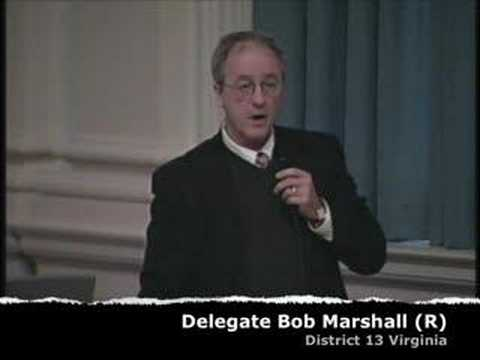 Del Bob Marshall (R) Morning After Pill