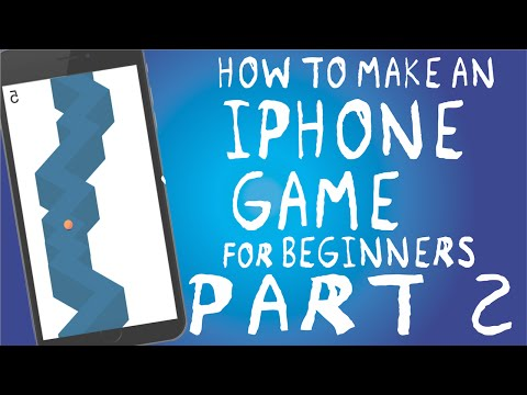 How to make an iPhone App ZigZag Beginners Guide | Swift and Xcode PART 2