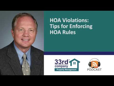 HOA Violations – Enforcing HOA Rules in Your Minneapolis / St Paul / Twin Cities Community