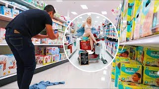 Another Shameless Shirtless Maternity Photoshoot In Target