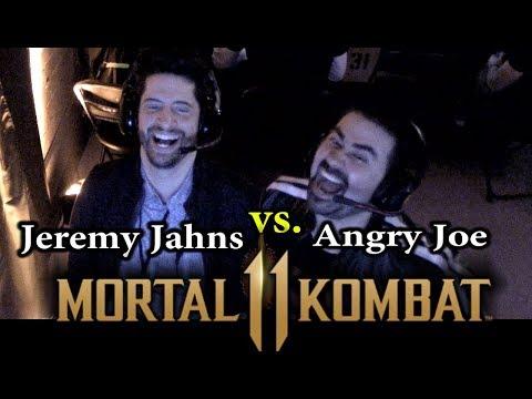 Mortal Kombat 11 - Jeremy Jahns vs AngryJoe!