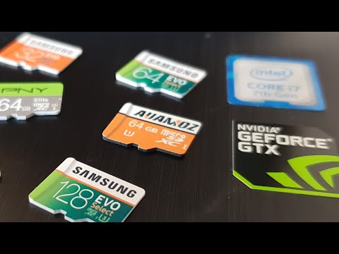 Samsung VS Auamoz micro sd card speed test 🚀