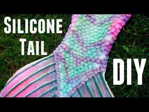 DIY silicone mermaid tail