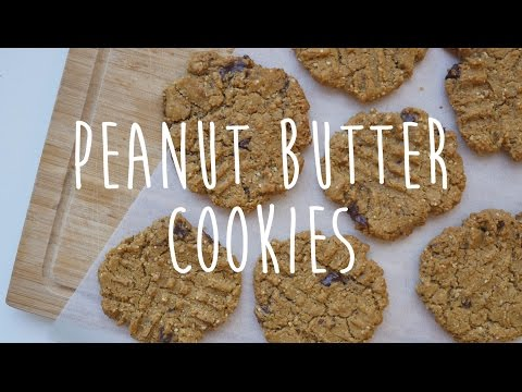 Easy Vegan Peanut Butter Chocolate Cookies