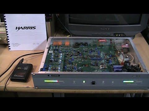 Harris AMS-G1 C-Quam AM Stereo exciter