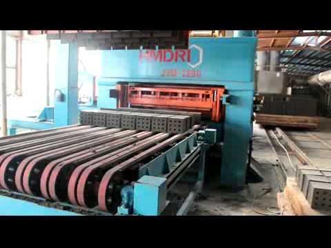Autoclaved fly ash brick making machine