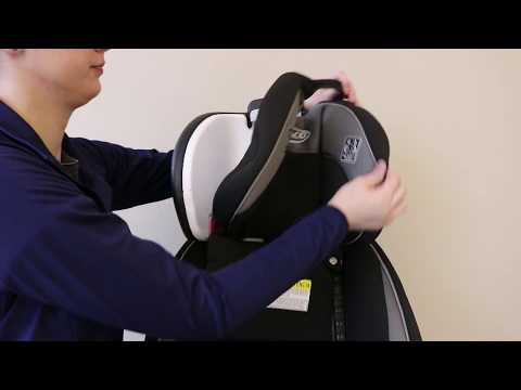 Graco® 4Ever® - How to Remove and Replace the Car Seat Cover
