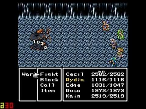 Final Fantasy IV/II Walkthrough - Part 40 - Excalibur