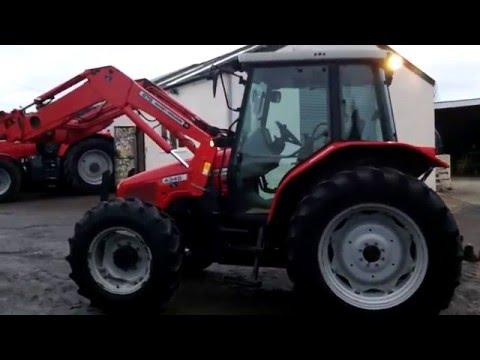 Massey Ferguson 4345 24/24 c/w MF 875 loader