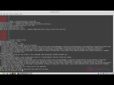 How To Install Erlang on Linux Mint 18.03