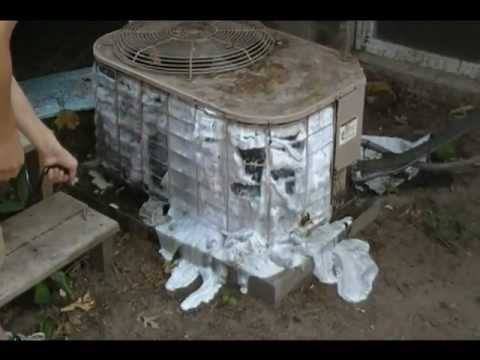 Spring time air conditioner tune up for the DIY person  / coil cleaning