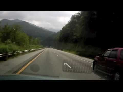 Time Lapse Drive Across the Country in a Day Part 1