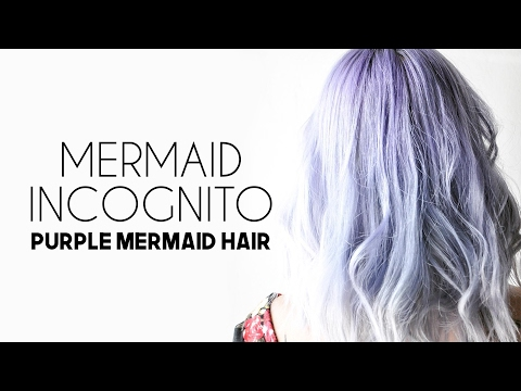 How To Purple Mermaid Hair from Jessica Dueck