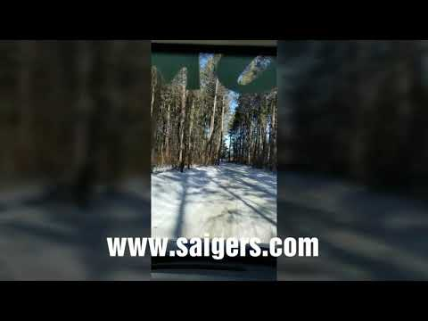 Cleaning a Resort in Beautiful Northern MN in the snow www.saigers.com