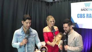 Lauren Alaina Interviews Dan and Shay Backstage at the ACMs!