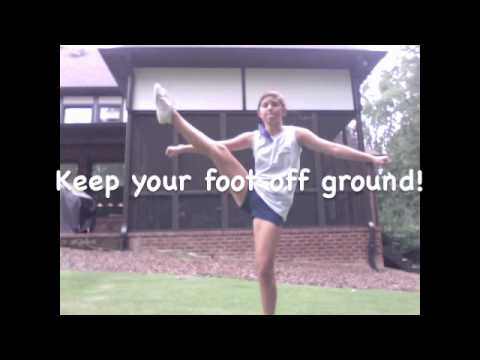How to Improve your Toe Touch