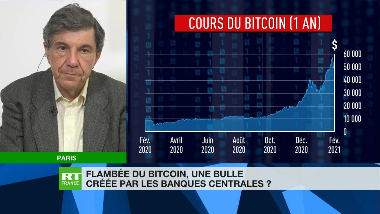 Chronique éco de Jacques Sapir - Flambée du Bitcoin : une bulle créée par les banques centrales ?