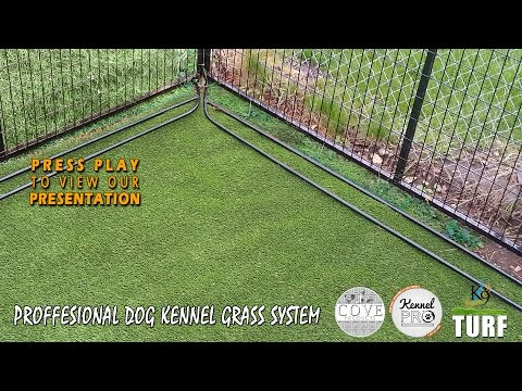 Pet Artificial Grass for your Dog Kennel (K9 Kennel Turf)