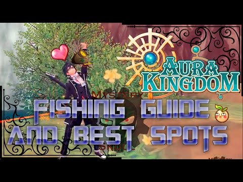 AuraKingdom - Fishing Guide and Best Sports
