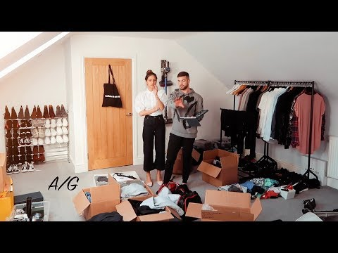 NEW HOME OFFICE & DRESSING ROOM TOUR