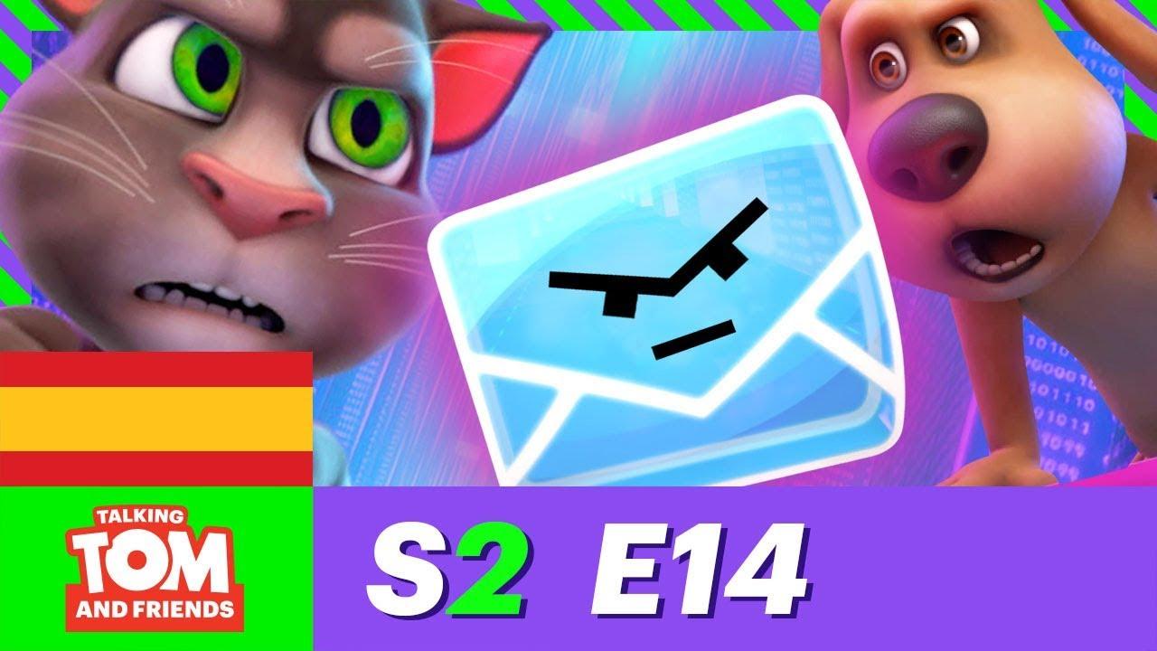 Error con el correo electrónico - Talking Tom & Friends (Episodio 14 - Temporada 2)