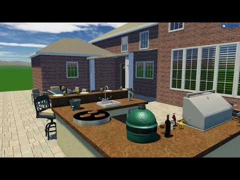 3D Design by The OutDoor Kitchen Design Store v2