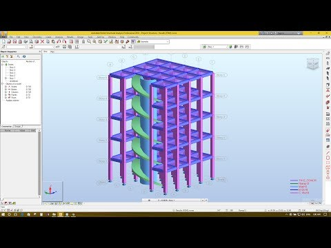 Circular wall & Ramp/Stair modeling in Autodesk Robot Structural Analysis 2018