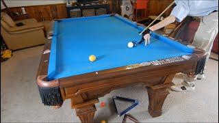 How to Shoot over a Ball and over a Rail in Pool!