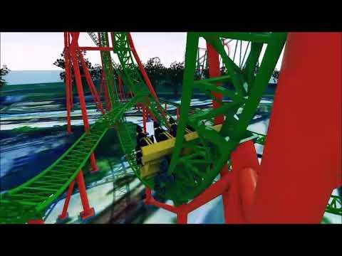 A quick look at Tantrum, Darien Lake's new roller coaster