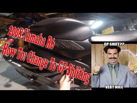 How To: Change to Moto GP Shifting 2008 R6