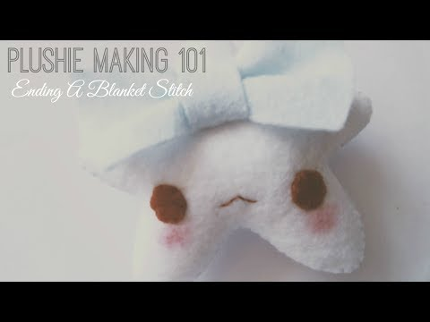 Basic Stitching: How To End A Blanket Stitch Tutorial
