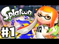 Splatoon - Gameplay Walkthrough Part 1 - Intro ...