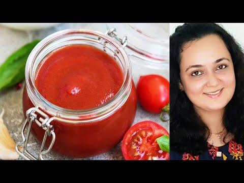Tomato Sauce I How to make Tomato Sauce I Tomato ketchup recipe
