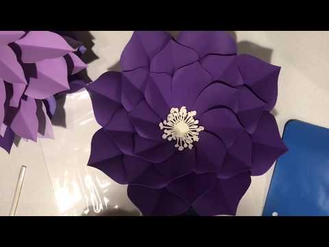 Free Plumeria giant paper flower tutorial by Seattle Giant Flowers