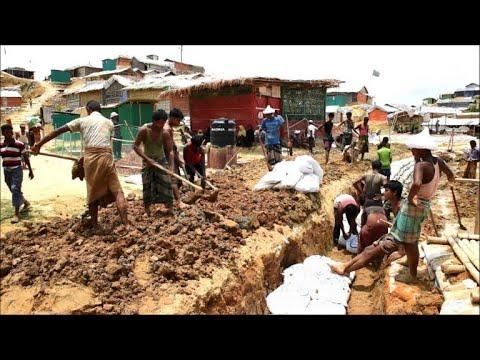 Rohingya in Bangladesh refugee camp brace for monsoon