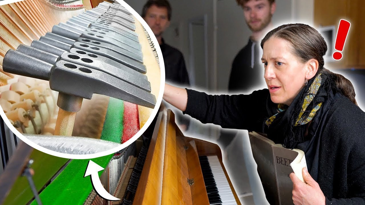 I put HAMMERS on a piano then hired PRO PIANISTS without telling them