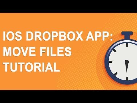 iOS Dropbox app: Move files tutorial