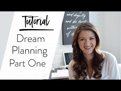 Dream Planning -  Part I  - Bucket List