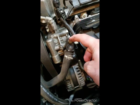 YOU CAN FIX IT GARAGE - 2009 Honda Accord 4 cylinder Power Steering Pump Change
