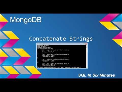 MongoDB: Concatenate Strings (Version 2.4 And Above 2.4)