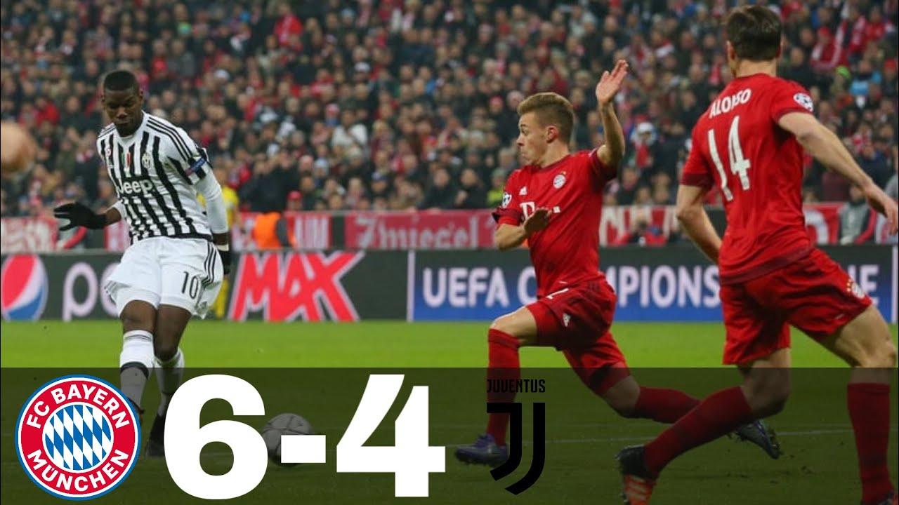 Bayern Munich vs Juventus 6-4 All Goals & Highlights | UCL 2015/16