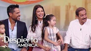 El esposo y el padre de Ana Patricia la emocionaron con estas bellas palabras