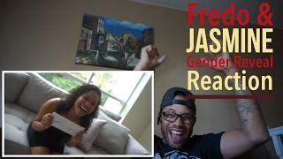 MY REACTION TO FREDO & JASMINE GENDER REVEAL epic!!!!