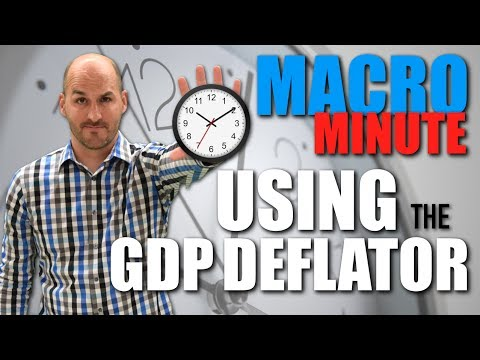 Macro Minute -- Using the GDP Deflator