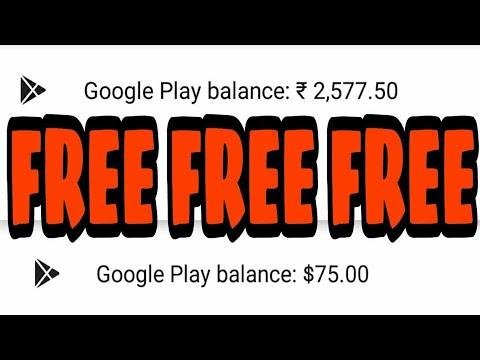 How To Get Google Play  Balance/Credit Free  100% Legit Trick